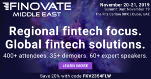 FINOLAB to become Partner of FinovateMiddleEast
